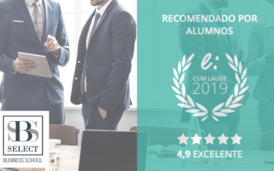 Select Business School recibe el Sello Cum Laude 2019