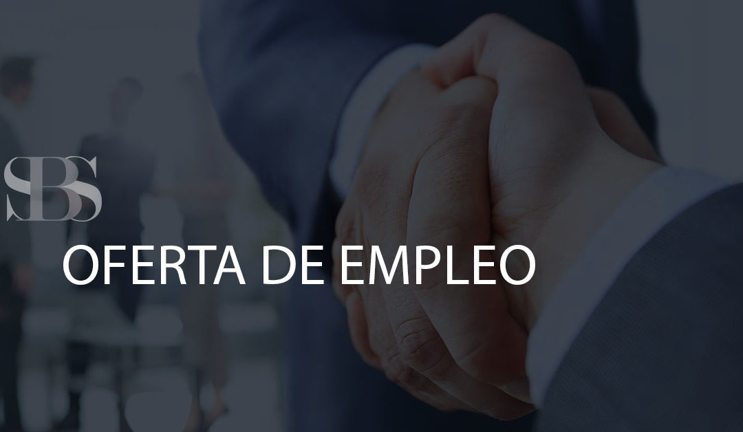 OFERTA DE EMPLEO – INTERNATIONAL SALES REPRESENTATIVE